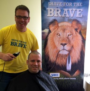 Des Shave for the Brave 2015